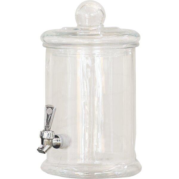 5 Liter Glass Beverage Dispenser by Symple Stuff