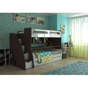 Twin Over Futon Bunk Beds You'll Love | Wayfair