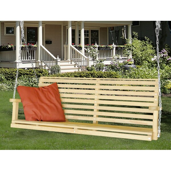 Stidham Classic Porch Swing by August Grove