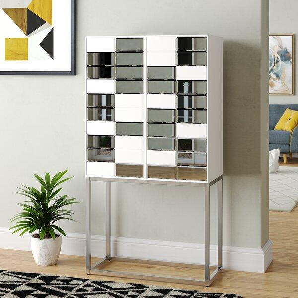 Hausman Bar Cabinet by Wrought Studio