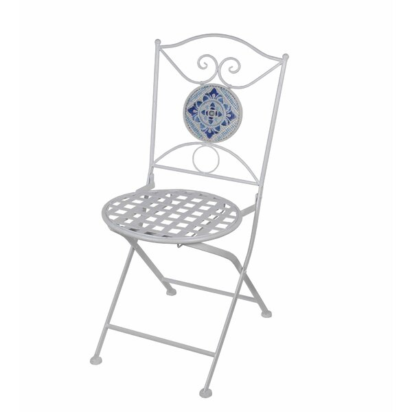 Tile Metal Folding Chair by Privilege