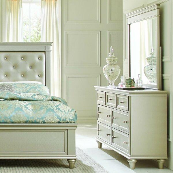 Celine 7 Drawer Dresser with Mirror by Willa Arlo Interiors