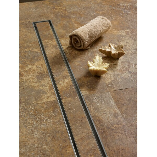 Tile 2 Linear Shower Drain by QuARTz by ACO