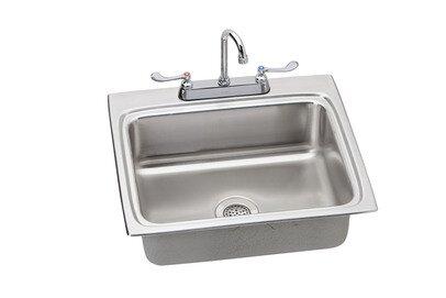 Lustertone 25 L x 22 W Kitchen Sink by Elkay