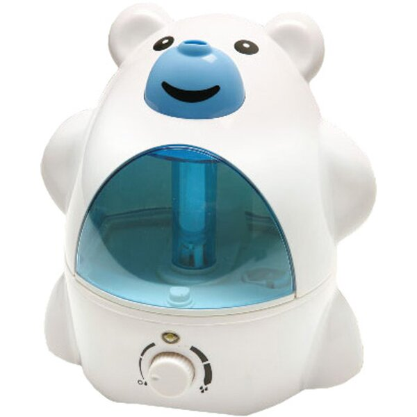 Polar Bear 0.53 Gal. Cool Mist Ultrasonic Tabletop Humidifier by Sunpentown