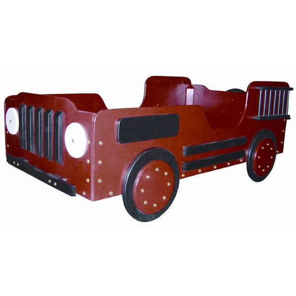 Phillips Fire Truck Toddler Car Bed by Zoomie Kids