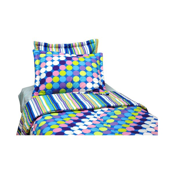 Dots and Stripes Comforter Set by Bacati