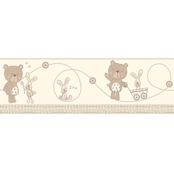 Fun4Walls Bear and Boo Neutral Wall Mural by WallP