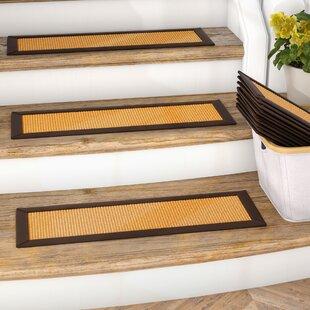 Dawes Sisal Carpet Gold Stair Tread (Set Of 13)