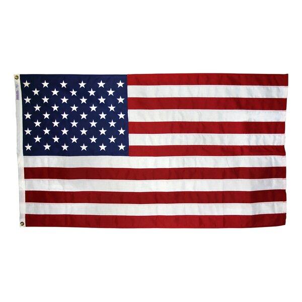 Tough-Tex Woven Traditional US Flag by Annin Flagm