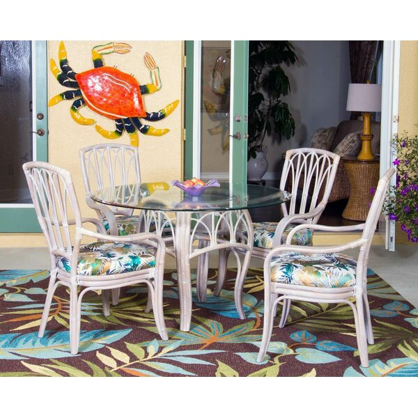 Presley 5 Piece Breakfast Nook Dining Set by Bay Isle Home