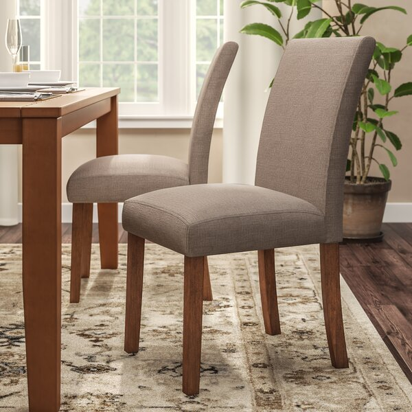Satchell Parsons Upholstered Dining Chair (Set of 2) by Alcott Hill