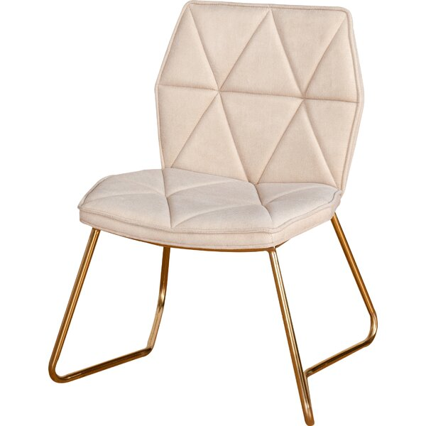 Tally Gold Dining Side Chair (Set of 2) by Statements by J
