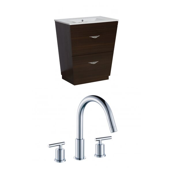 Vee 24 Single Bathroom Vanity Set by American Imaginations