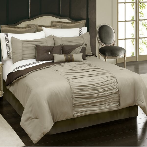 Stokes 7 Piece Comforter Set by Alcott Hill