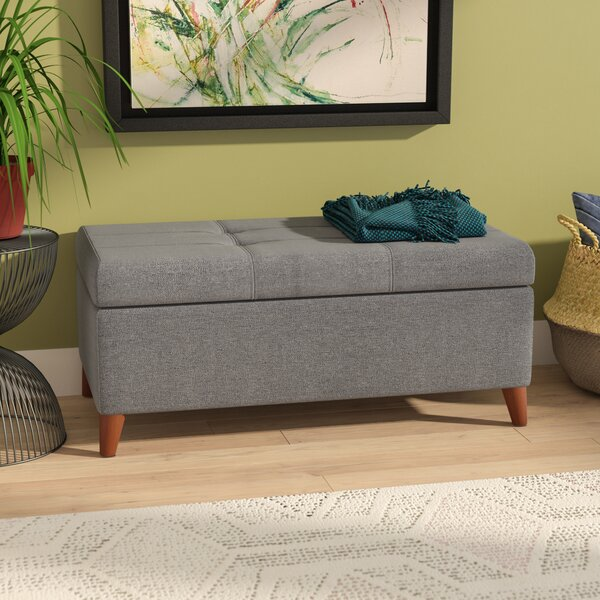 Uxbridge Tufted Storage Ottoman by Wrought Studio