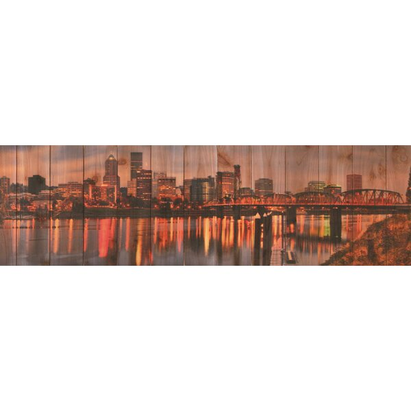 City Skyline Photographic Print by Gizaun Art