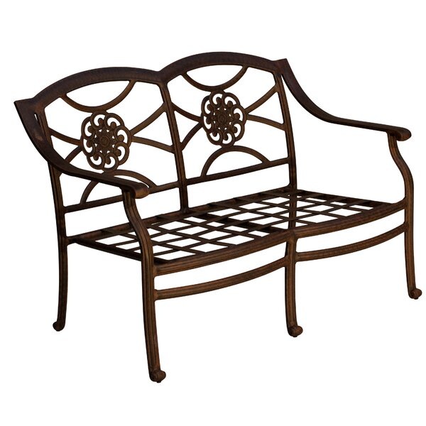 Ross Patio Loveseat by Fleur De Lis Living