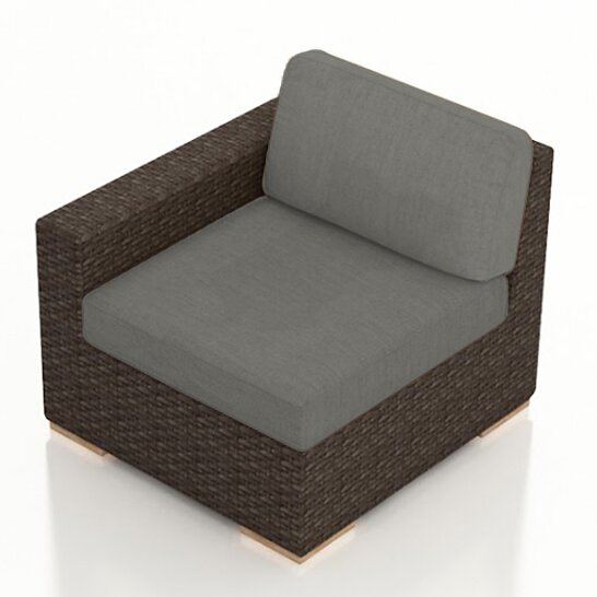 Arden Left Arm Section Chair with Cushion by Harmonia Living