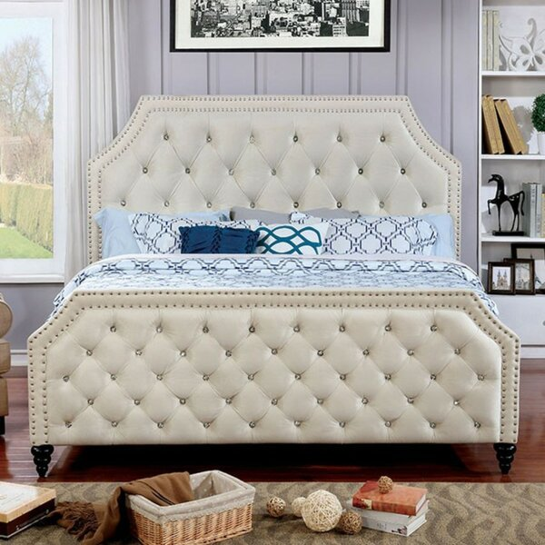 Lirette Upholstered Platform Bed by House of Hampton