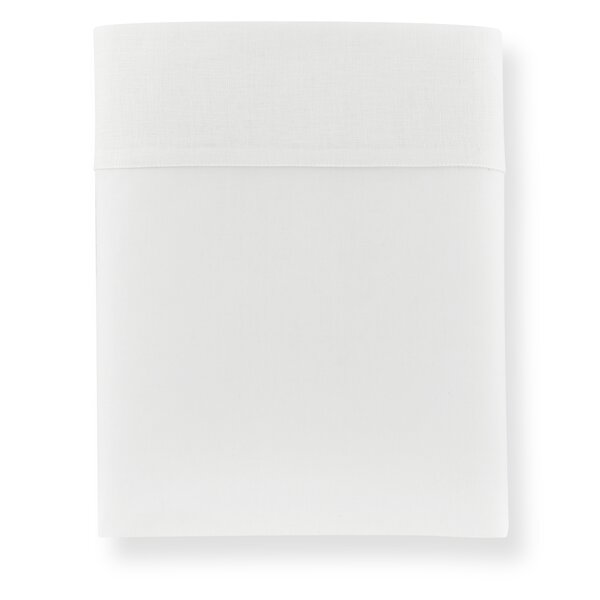 Mandalay Cuff 200 Thread Count Flat Sheet by Peacock Alley
