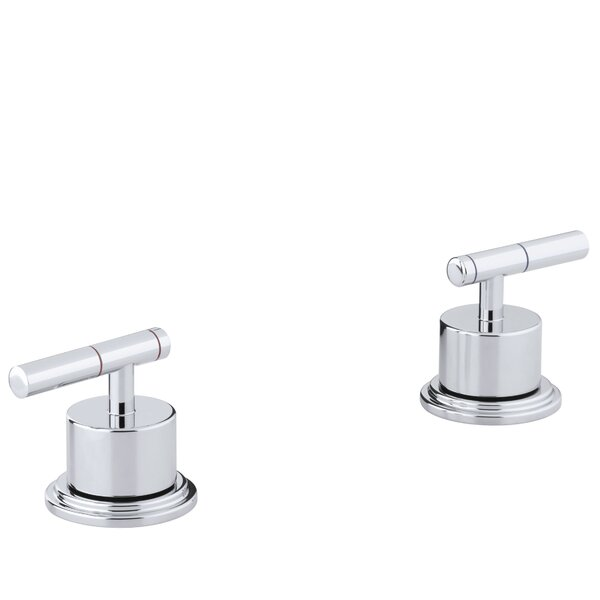 Taboret Deck-Mount High-Flow Bath Trim with Lever Handles by Kohler