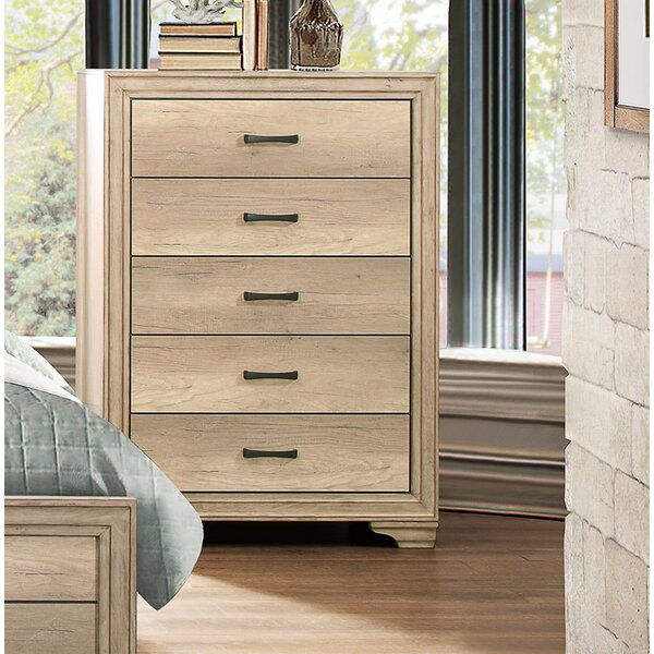 Emberton 5 Drawer Chest by Millwood Pines