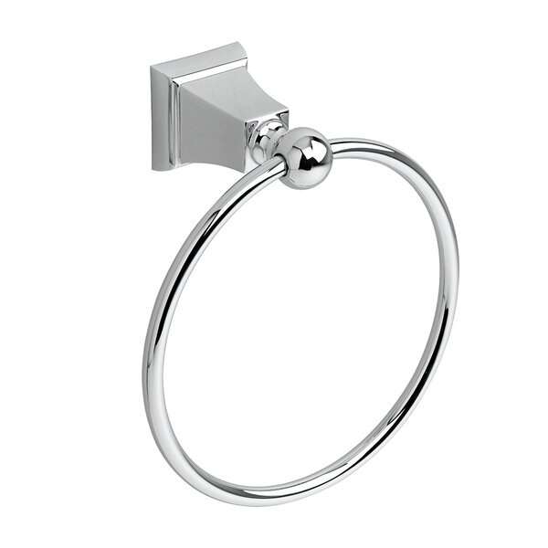 Universal 7.13 Concealed Mounted Square Traditional Towel Ring by American Standard