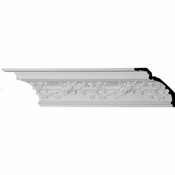 Hampton 6 1/4H x 94 1/2W x 6 1/4D Crown Moulding by Ekena Millwork