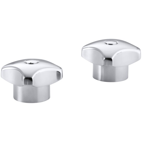 Triton Standard Handles for Widespread Base Faucet (Set of 2) by Kohler