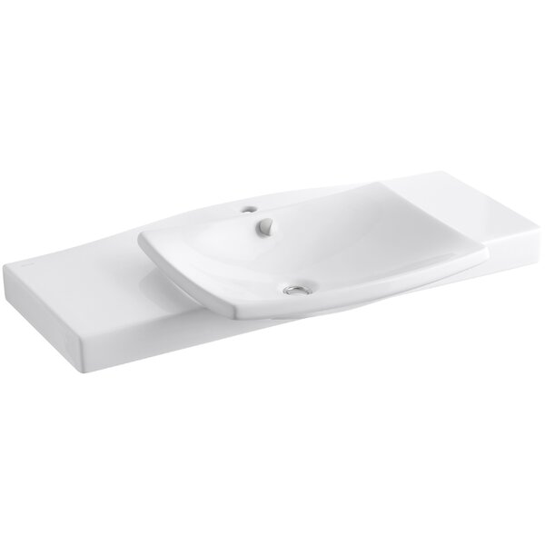 Escale Pedestal 40 Single Bathroom Vanity Top by Kohler
