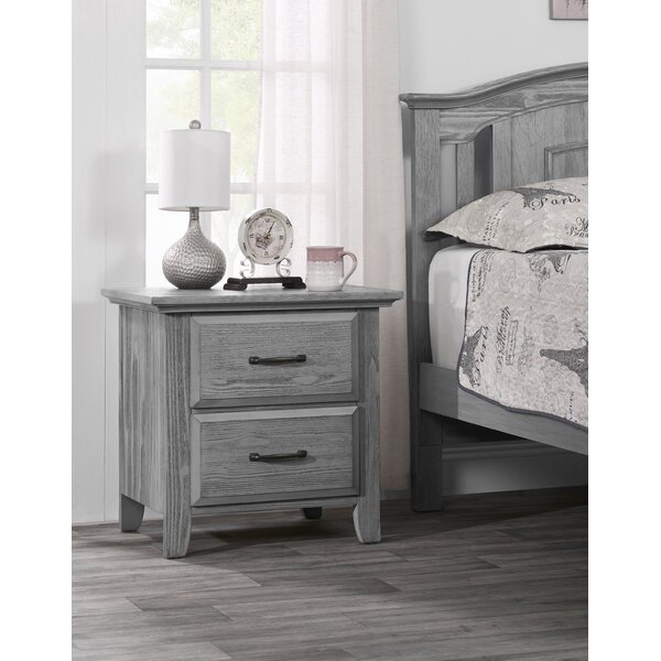 Tetbury 2 Drawer Nightstand by Harriet Bee Harriet Bee