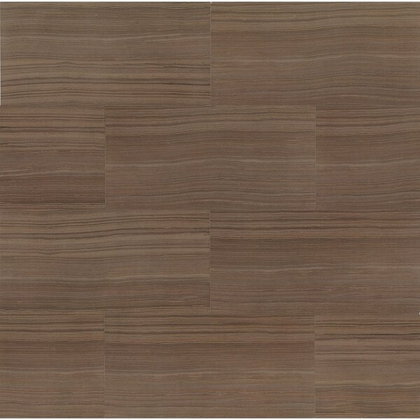 Rowe 12 x 24 Porcelain Field Tile in Wenge Lappato Semi-Polished by Grayson Martin