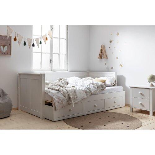 Potts Daybed Harriet Bee Farbe: Weiß | Schlafzimmer > Schlafsofas | Harriet Bee