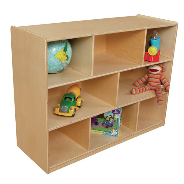 X-Deep 8 Compartment Shelving Unit by Wood Designs