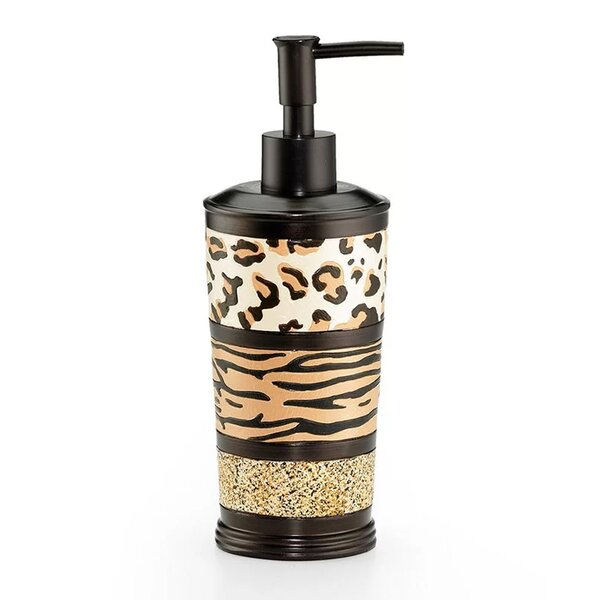 Niemi Animal Print Bathroom Lotion and Soap Dispenser by Bloomsbury Market