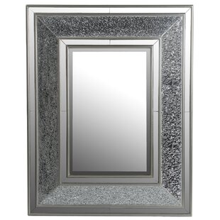 Orren Ellis Cheree Rectangular Mosaic Accent Mirror