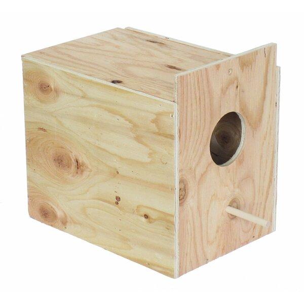 Orion Wooden Nest Box by Tucker Murphy Pet