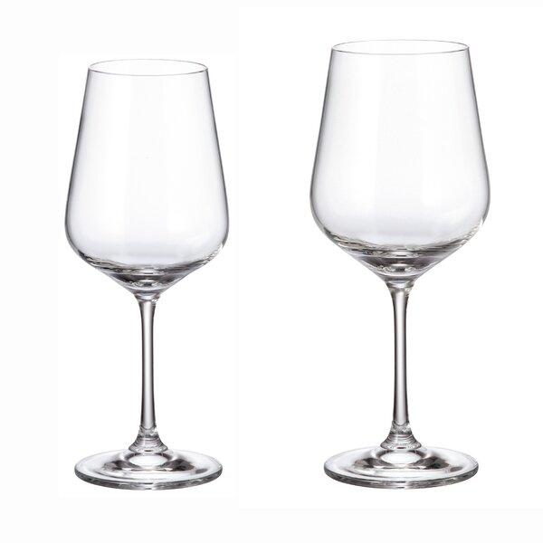 Strix Duo Glass 12-Piece Assorted Stemware Glass Set by Red Vanilla