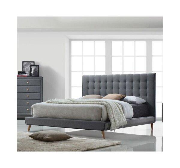Cleitus Upholstered Platform Bed by Corrigan Studi