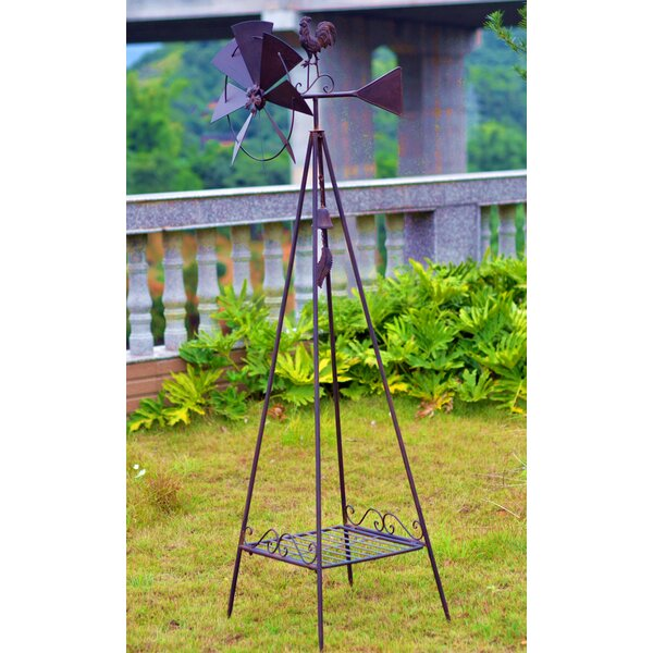 Weather Vane Metal Plant Stand by Hi-Line Gift Ltd.