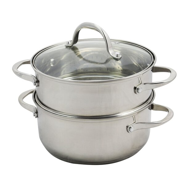 Brenta 3 Qt. Stainless Steel Stainless Steel by WeightWatchers