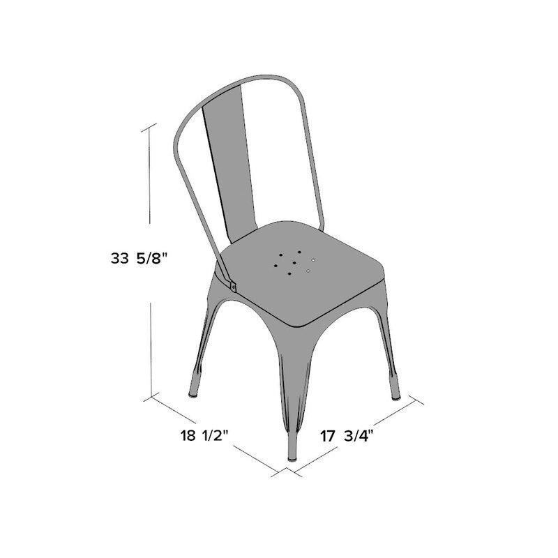 Trent Austin Design Kunkle Stackable Side Chair Amp Reviews