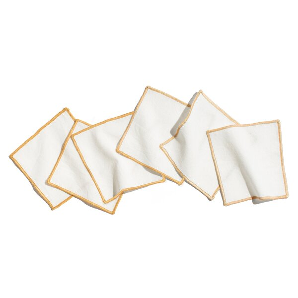 Skyla Cocktail Square 5 Table Placemat (Set of 6) by Charlton Home
