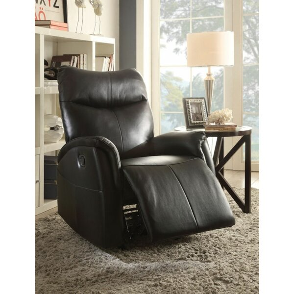 Strayhorn Leather-Aire Rocker Recliner W002338351