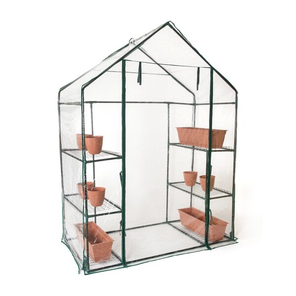 2.4 Ft. W x 4.7 Ft. D Greenhouse by Trademark Innovations