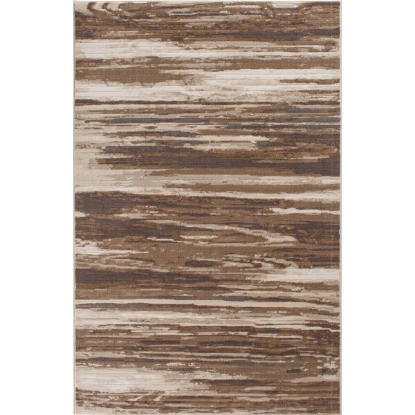 Malmberg Hamal Beige/Brown Area Rug by Union Rustic