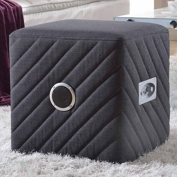 Jo Cube Ottoman by Ebern Designs