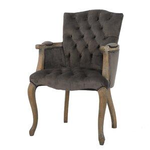 Barletta Velvet Arm Dining Chair