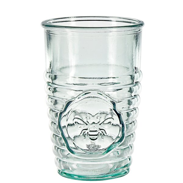 Tran Bee Drinking 11 oz. Glass Every Day Glass by August Grove